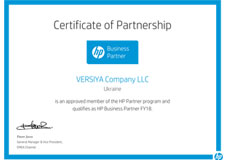 Versiya - HP Business Partner