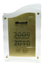 Сертифікат Microsoft Gold Certified Partner