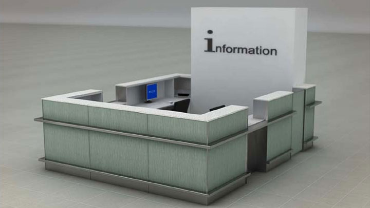 Technological furniture for airports - Versiya