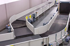 Baggage sorting system from VERSIA company